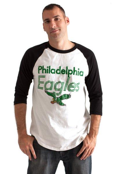 Phiadelphia Eagles Raglan by Junk Food