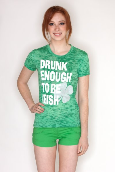 Drunk Irish Tee