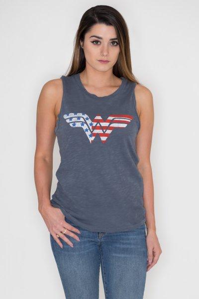 Wonder Woman Flag Tank by Junk Food
