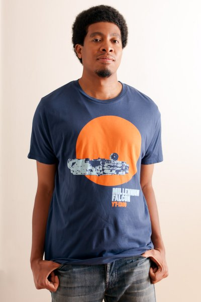 Millennium Falcon Tee by Junk Food