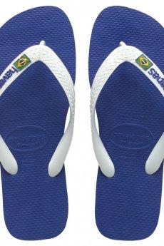 Navy Havaianas Brazil Logo Sandal