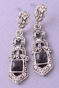 Dangling Stone Earrings