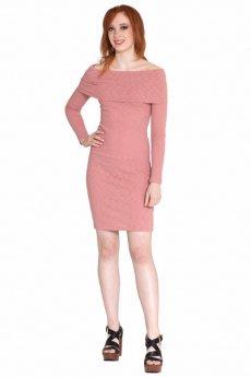 Off Shoulder Bodycon Dress by Cherish