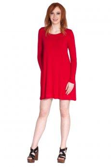 Round Neck Pocket Dress by Cherish