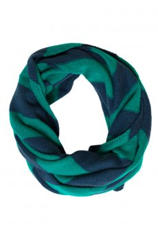 Striped Infinity Scarf by Charlie Paige