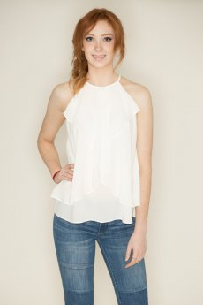 Layered Ruffle Top by She & Sky