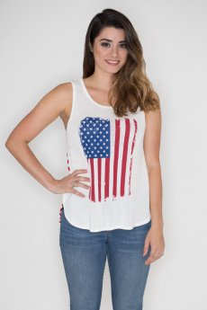 American Flag Tank by Dream Style