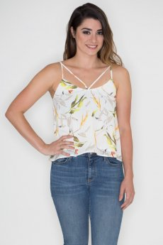 Floral Cami Top by Hommage