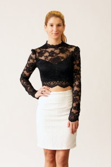 Textured Skirt by Very J