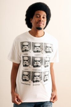 Stormtrooper Mood Tee by Mad Engine