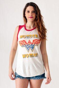 Wonder Woman  Raglan Tank by Junk Food