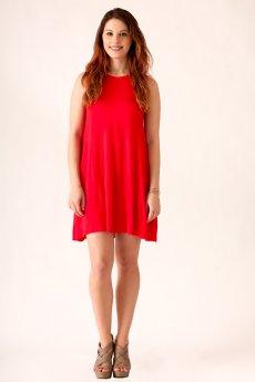 Lace Up Back Dress by Cherish