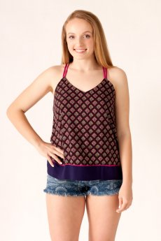 Bohemian Print Cami by She and Sky