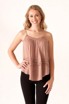 Criss Cross Back Cami by She and Skyc
