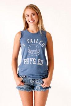 I Failed Phys Ed Tank by Junk Food