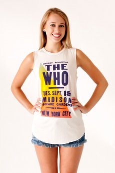 The Who Raglan Tank by Junk Food