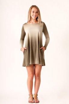 Ombre Pocket Dress by Cherish