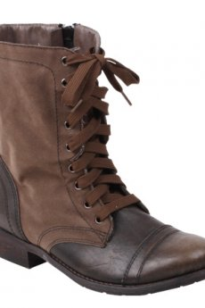 Forge Khaki Boots by Wanted