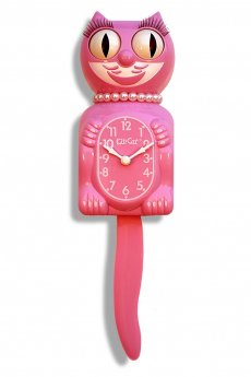 Honeysuckle Lady Kit-Cat Clock