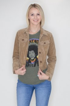 Cropped Corduroy Jacket by Cielo Jeans