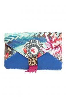 Peacock Clutch by Nila Anthony