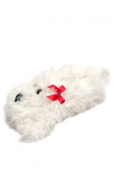 Shaggy Dog Slippers by Do Everything In Love