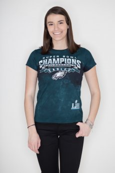 Philadelphia Eagles Super Bowl Tee by Liquid Blue