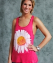 Daisy Print Tank Top by Nella Fantasia
