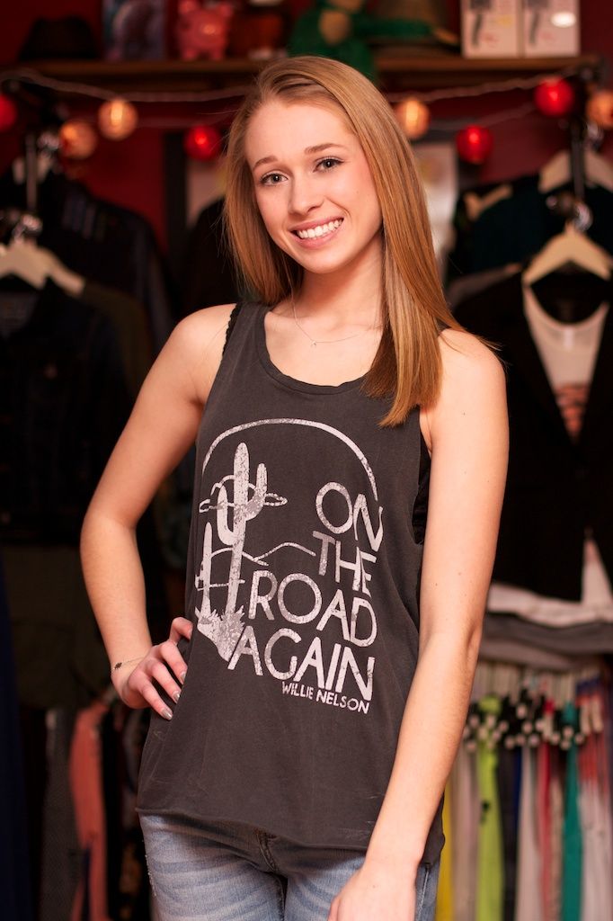 Lyric on the road again lyrics : Junk Food Willie Nelson On The Road Again Tank Top