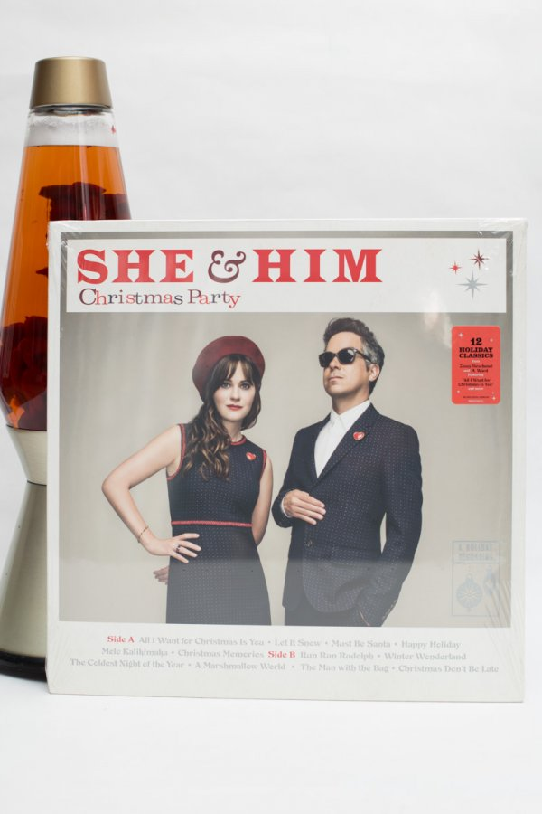 She And Him Christmas.She Him Christmas Party