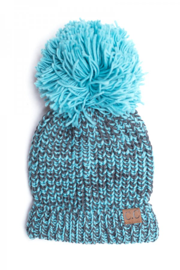 1a25a8da096 Chunky Knit Pom Beanie by C.C.