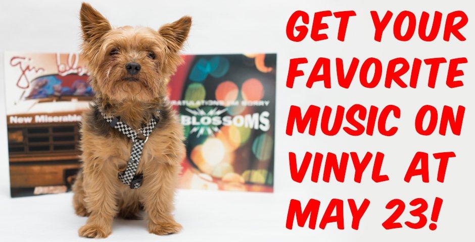 Vinyl Records at May 23