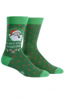 Don't Stop Believing Socks by Sock It To Me