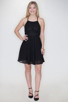 Chiffon Party Dress by Listicle