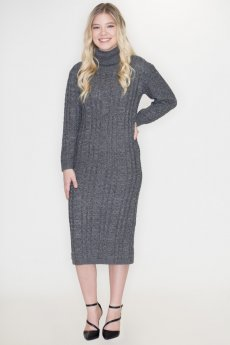 Turtleneck Sweater Dress by Cozy Casual