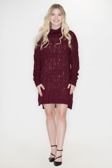 Chunky Knit Sweater Dress by Cozy Casual