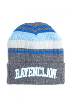 Ravenclaw Stripe Roll Beanie by Bioworld