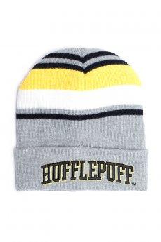 Hufflepuff Stripe Roll Beanie by Bioworld