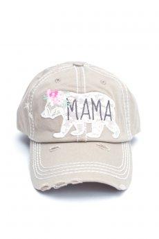 Mama Bear Baseball Cap by Kbethos