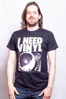 I Need Vinyl Tee by Impact