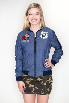 Route 66 Jacket by Cest Toi