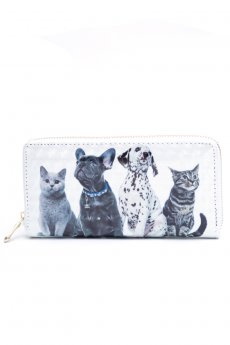 Puppy And Kitten 3D Wallet by Love of Fashion