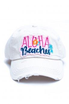 Aloha Beaches Baseball Cap by Kbethos