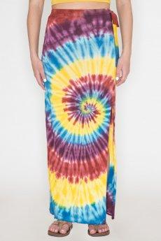 Tie-Dye Maxi Skirt by Bear Dance