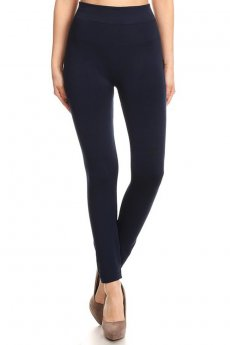 Fleece Lined Leggings by Joinall