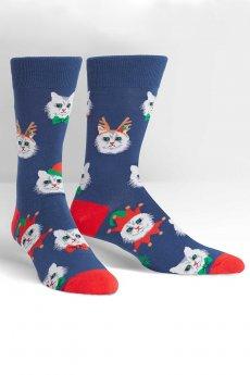 Santa Claws Crew Socks by Sock It To Me